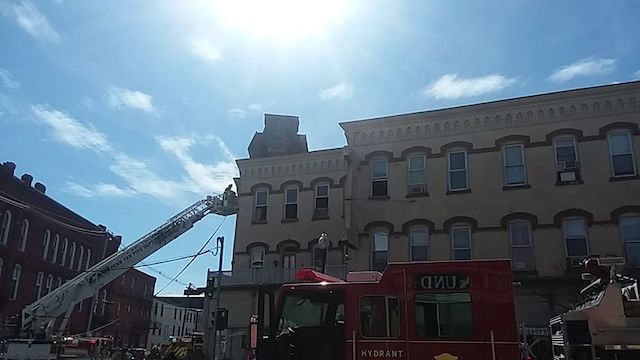 Firefighters called to old hotel in Penn Yan (photo)