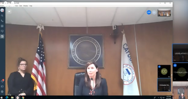 WATCH LIVE: Officials hold press conference in Cayuga County to give update on COVID-19