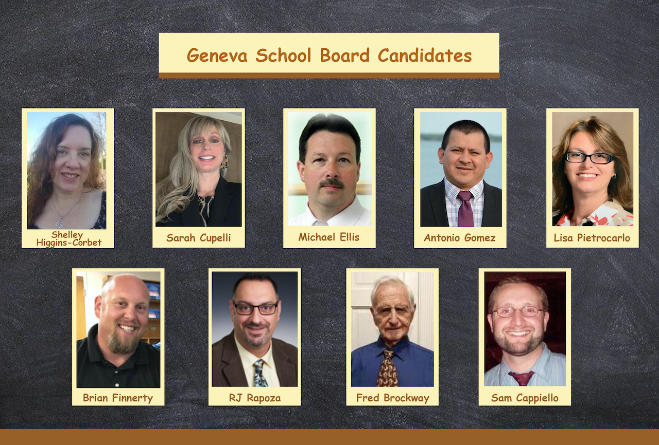 Q&A with school board candidates from the Geneva City School District