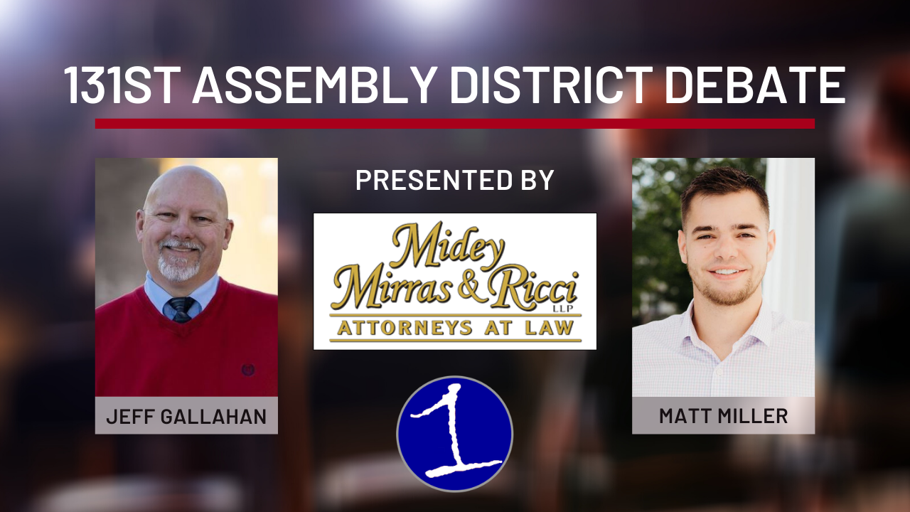 HOW TO WATCH: Jeff Gallahan, Matt Miller will meet in debate ahead of Election Day on FingerLakes1.com (video)