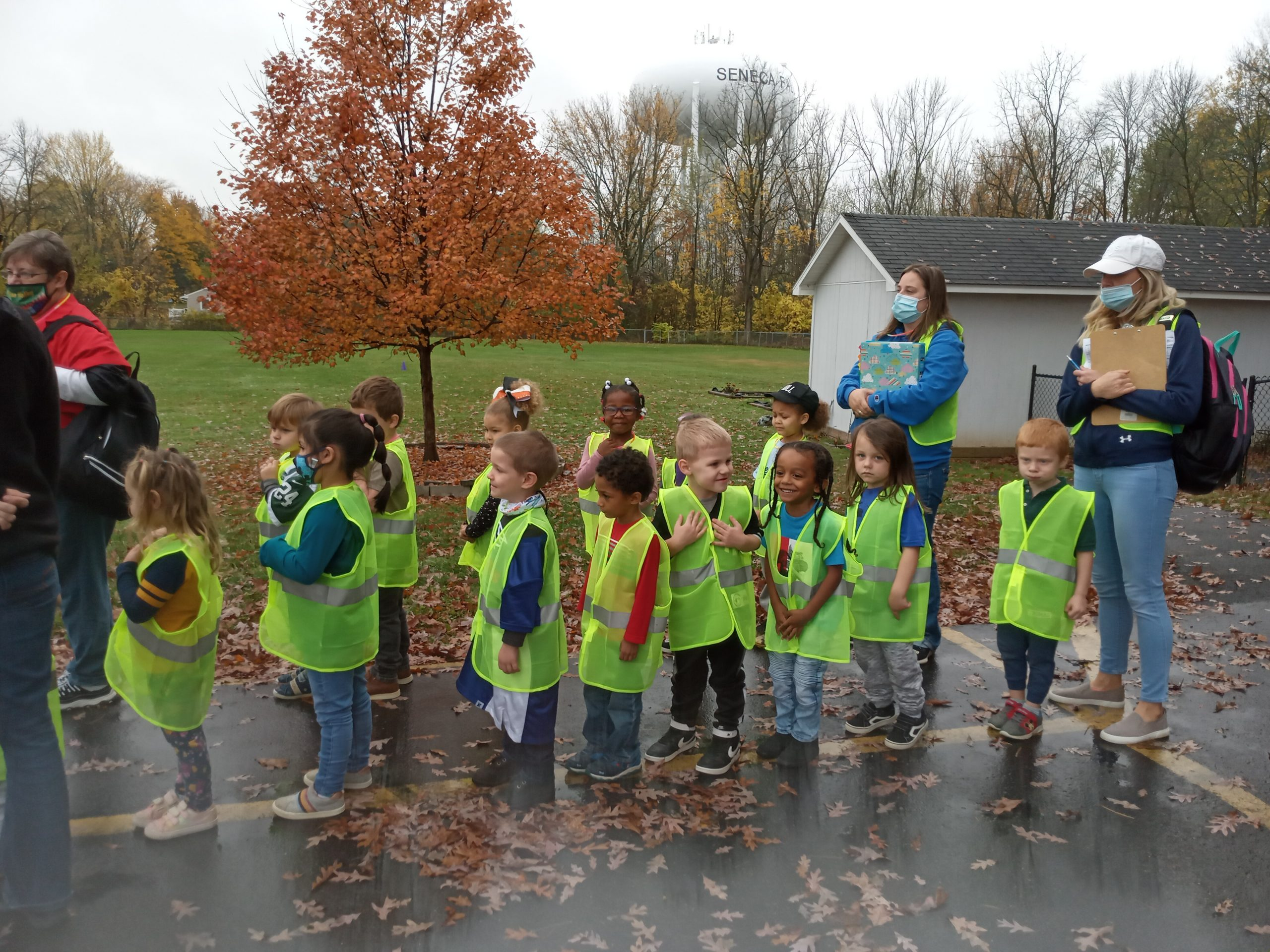 Seneca Meadows, Cintas partner on safety vest donation to Seneca County Head Start