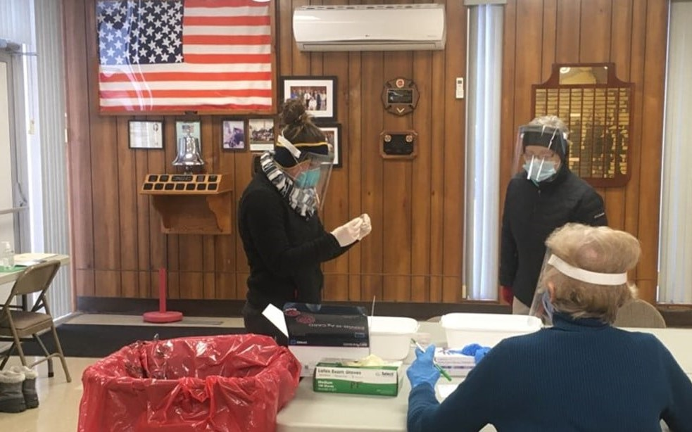 Drive-thru testing clinic a success in Yates County thanks to community partnership