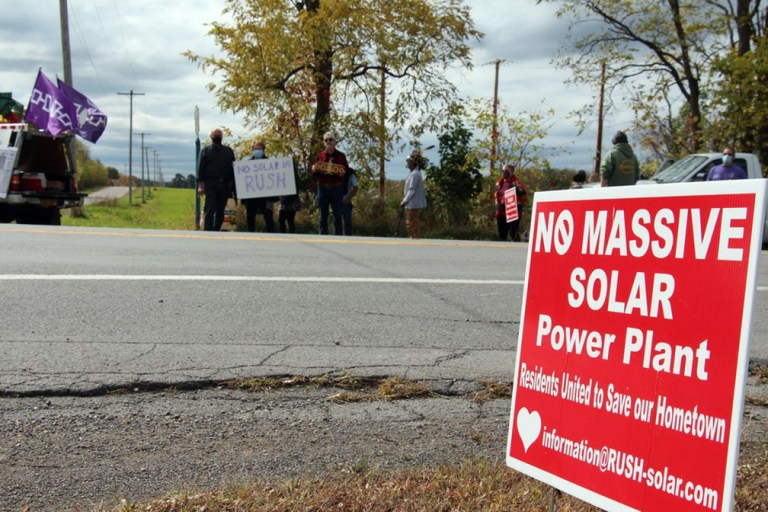 Senecas continue calling upon state to reconsider Cuomo's NYSERDA solar plant after human remains been found