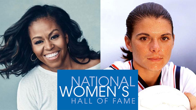 Michelle Obama, Mia Hamm highlight National Women's Hall of Fame Class of 2021