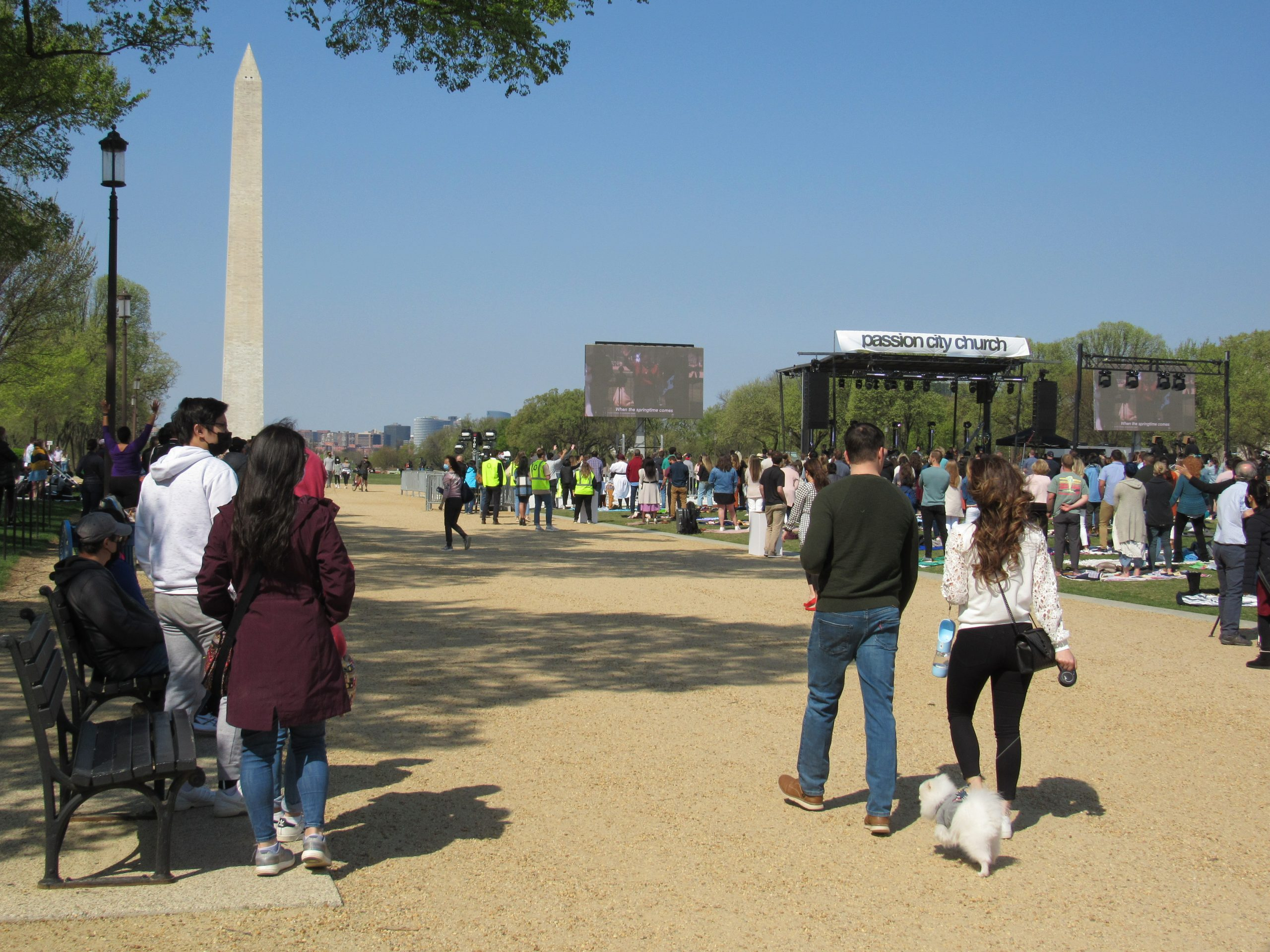 A second COVID-19 Easter Sunday in Washington: prayers for Capitol Police, calls for vaccinating continue
