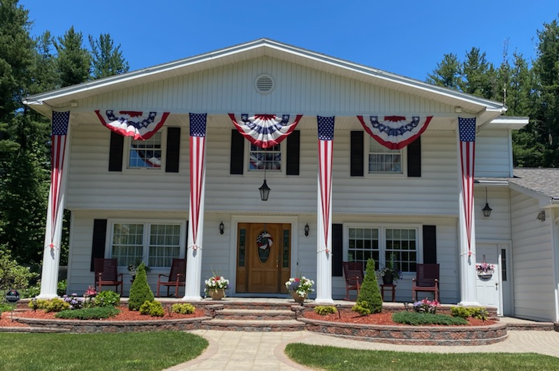 4th of July home decorating contest hosted by the Habitat for Humanity of Seneca County and Seneca Housing Inc.