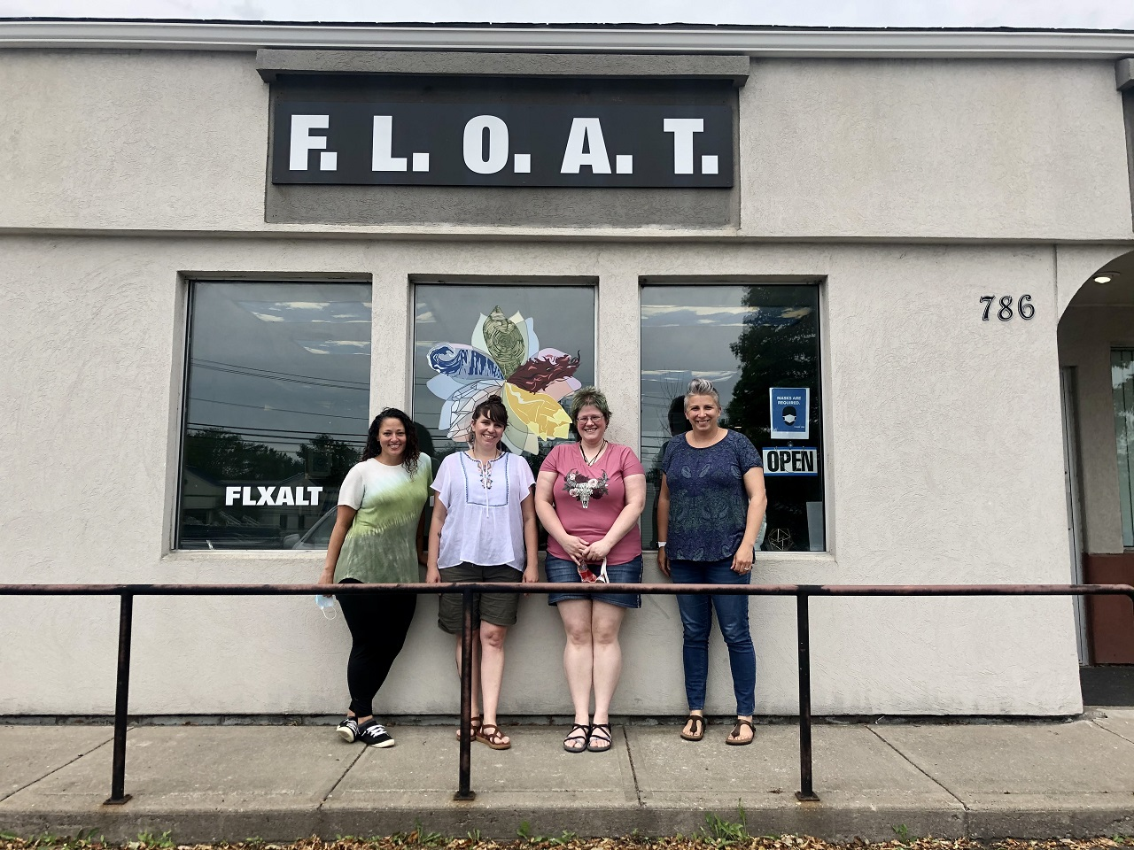 F.L.O.A.T. offers more than just your average therapy