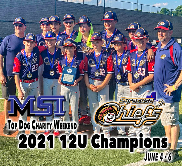 12U Syracuse Jr. Chiefs win tournament championship in Philly